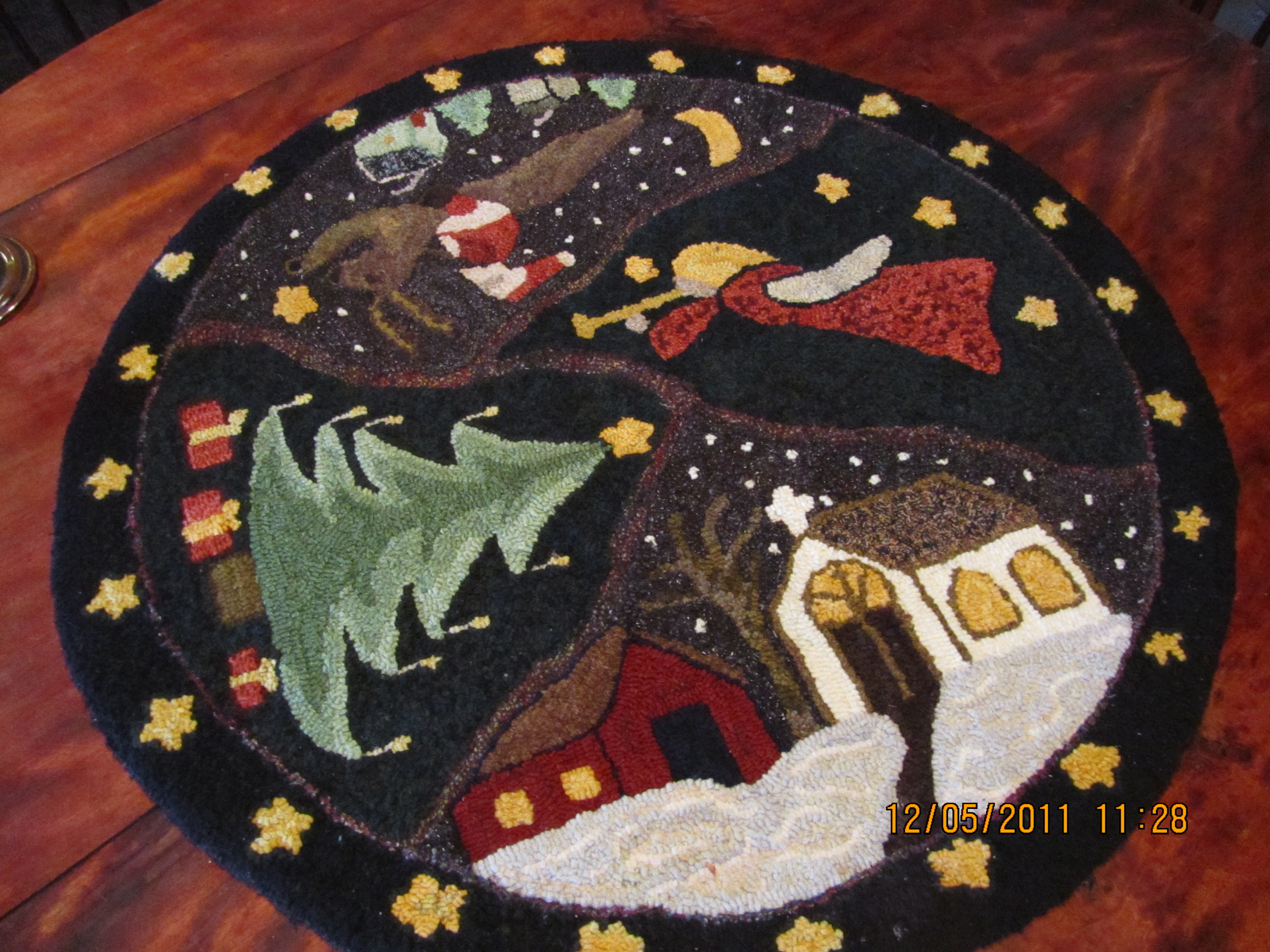 Christmas Rug Mom S Rugs