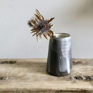 Slip Weft vessel by Elaine Bolt
