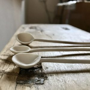 Spindle Spoons by Elaine Bolt