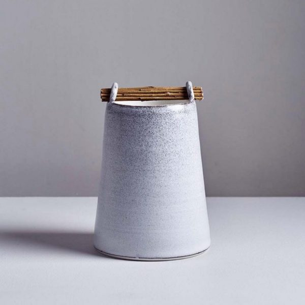 Stone Willow Vessel by Elaine Bolt