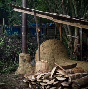 Making Ground kiln firing photography by Lucy Williams