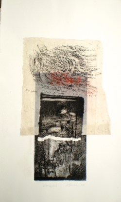 Karijini, 2014, intaglio and frottage