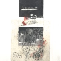 Gorge Fragmentation, 2014, intaglio and frottage, 50x35 cm