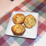 Vegetable Corn Muffins