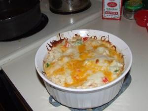 Cauliflower Sauerkraut Casserole 014