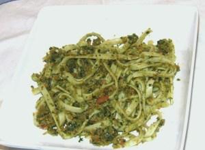 Pasta and Pesto 006