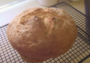 Irish Rosemary Soda Bread
