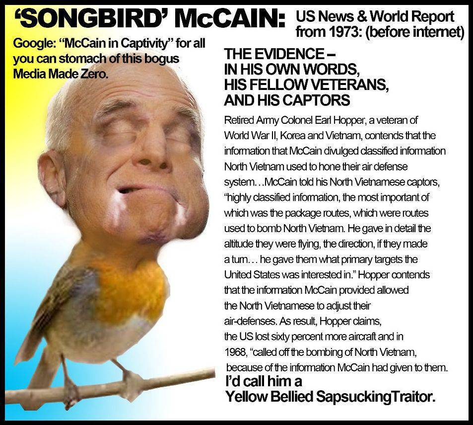 McCain-Vietnam-Songbird