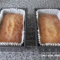lemon drizzle cake and the hunt for 1lb loaf tins