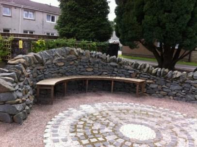curve bench Callander