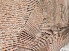 Colosseum brick arch
