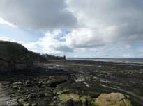 St Andrews castle beach
