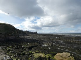 St Andrews castle beach