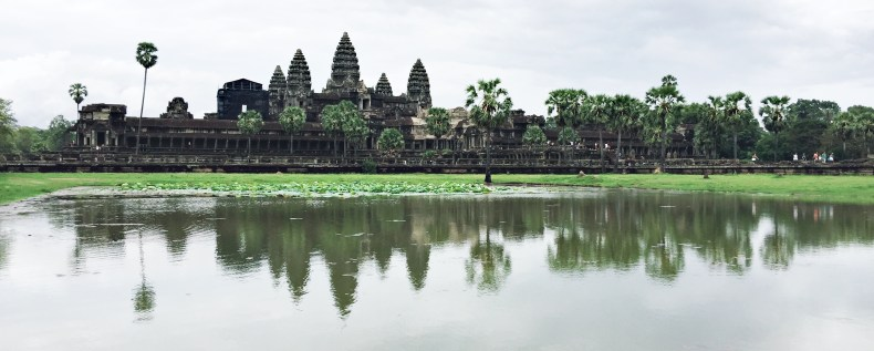 Angkor Wat. The famous spot to capture sunrise and sunset