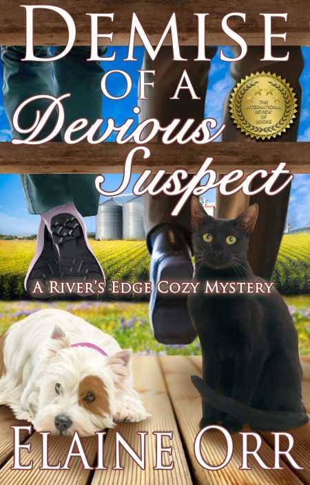 Demise of a Devious Suspect, River's Edge Mystery Series Book 3