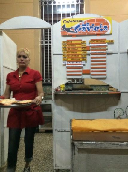 Pizza shop with 40 cent pizzas