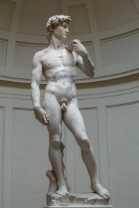 David by Michelangelo; Photo by Jörg Bittner Unna (Own Source, Wikipedia)
