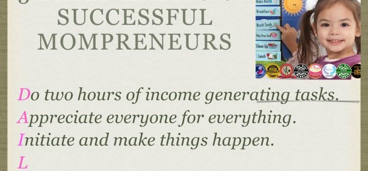 Daily success habits