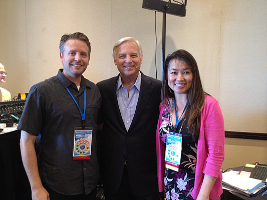 """With Jack Canfield, the author of """"Chicken Soup For The Soul"""" and so much more."""