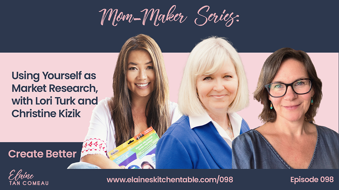 Mom Makers Inventors Lori Turk Christine Kizik Elaine Tan Comeau
