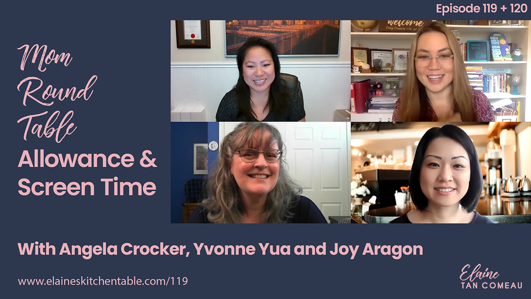 120 – Mom Round Table: Screen Time and Your Kids