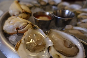 Oysters and Maine Jonah Crab Claws - Neptune Oyster