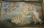 The Birth of Venus by Botticelli (1482-85)