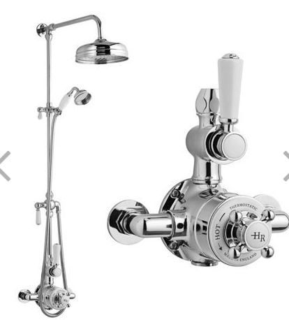Hudson Reed Traditioanl shower with headset