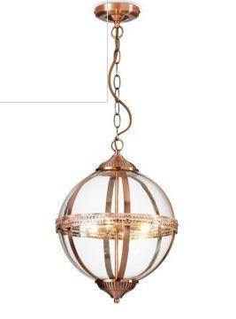 orb pendant light marks and spencer copper