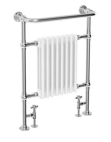 traditioanl towel heated radiator