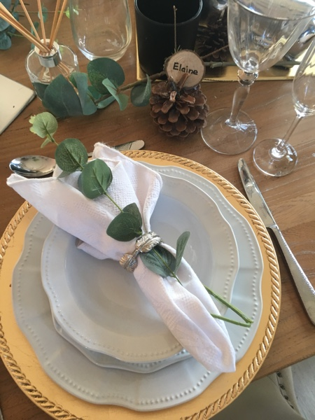 Festive Table Styling