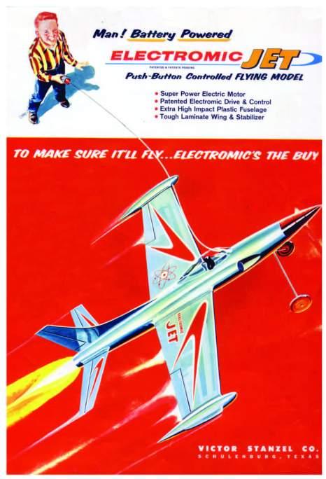 electromic jet poster