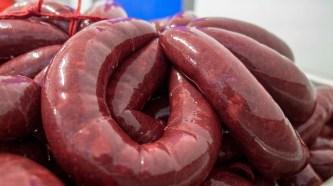 Blood sausages Maison Louis Ospital. Hasparren