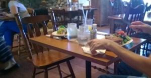Enjoying a breakfast date together