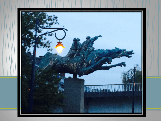 Dragon in Namur Belgium
