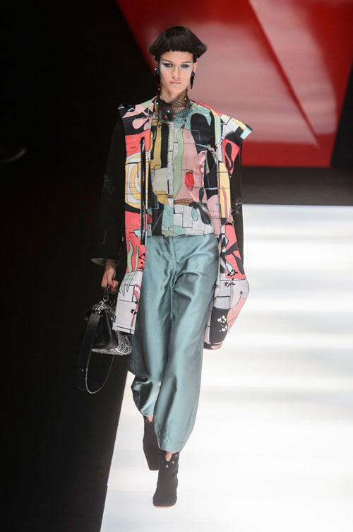 Colecția lui Giorgio Armani prezentată la Paris Fashion Week 2018 6