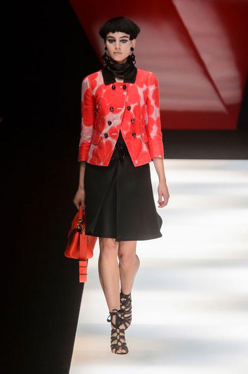 Colecția lui Giorgio Armani prezentată la Paris Fashion Week 2018 12