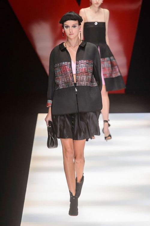 Colecția lui Giorgio Armani prezentată la Paris Fashion Week 2018 22
