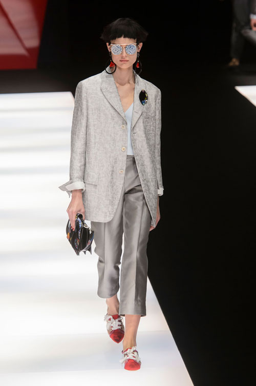 Colecția lui Giorgio Armani prezentată la Paris Fashion Week 2018 30