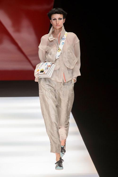 Colecția lui Giorgio Armani prezentată la Paris Fashion Week 2018 31