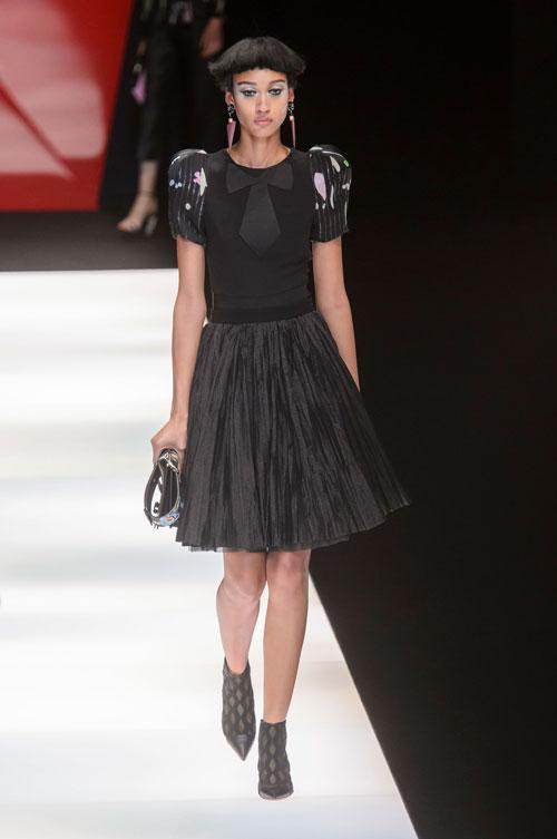 Colecția lui Giorgio Armani prezentată la Paris Fashion Week 2018 38