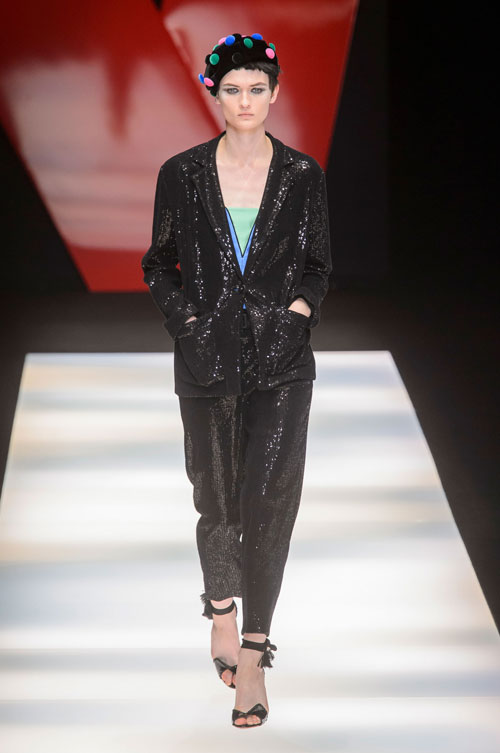 Colecția lui Giorgio Armani prezentată la Paris Fashion Week 2018 46