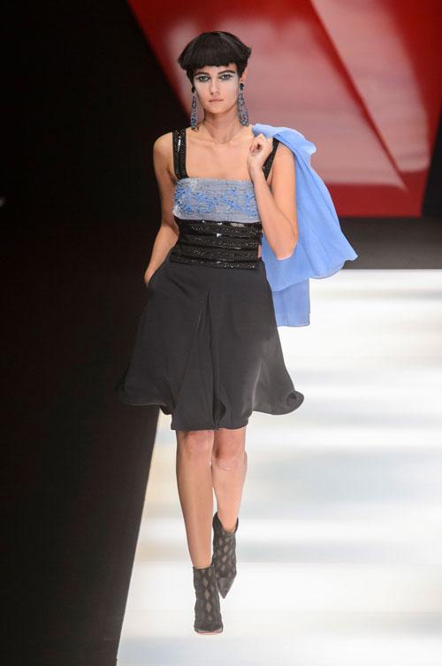 Colecția lui Giorgio Armani prezentată la Paris Fashion Week 2018 49