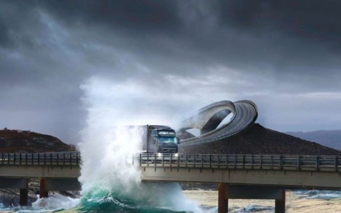 15 dintre cele mai periculoase drumuri din lume 8