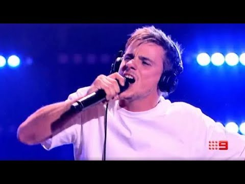"Sam Perry performs "" When Doves Cry"" and SHOCKS the judges - The Voice Australia 2018 1"
