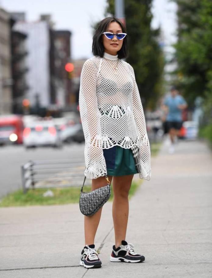 Săptămâna Modei la New York 2018-stilul pe stradă în Manhatan 18