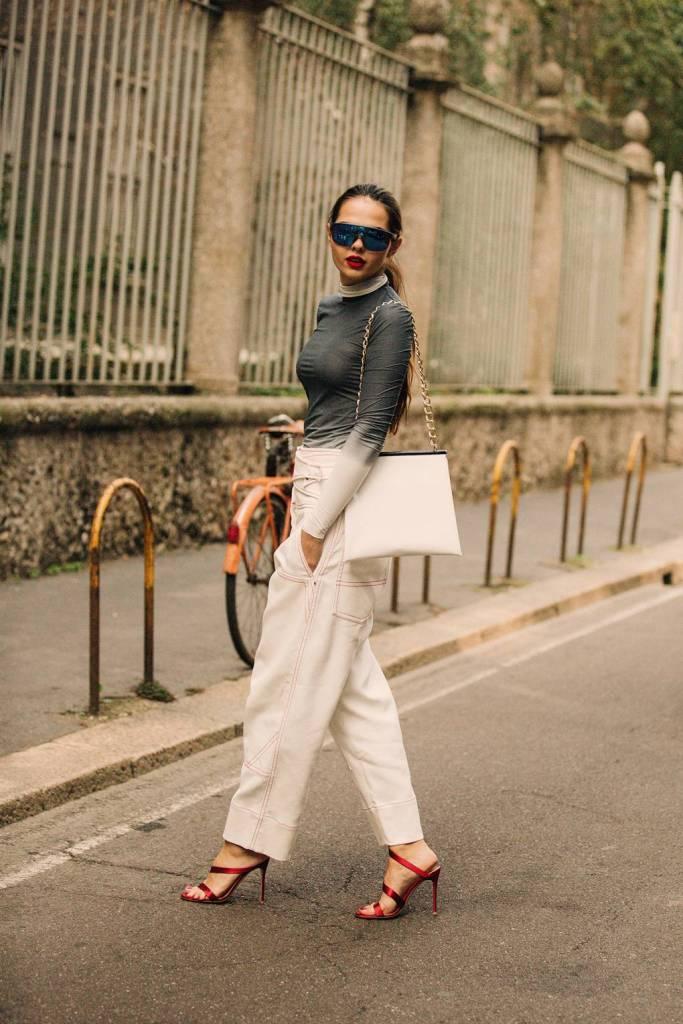 Săptămâna Modei la Milano-Stilul stradal septembrie 2018 44