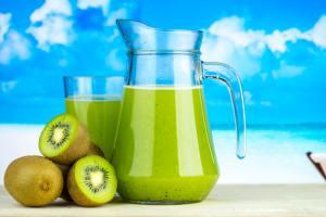 Fructul de kiwi bogat în fibre.Valori nutriționale