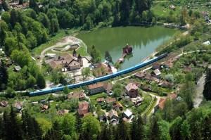 Tușnad-Cel mai mic oraș din România este atracție mondială