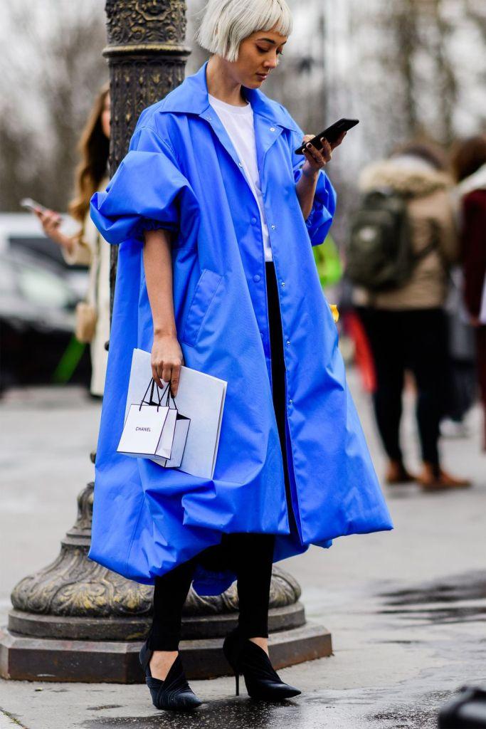 Stilul pe stradă Paris Fashion Week.(Galerie Foto) 11